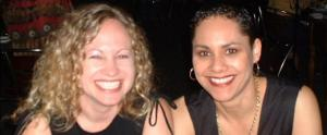 Vanessa Drummond (Marketing Director) and Janet Parker (CEO), zazen Water